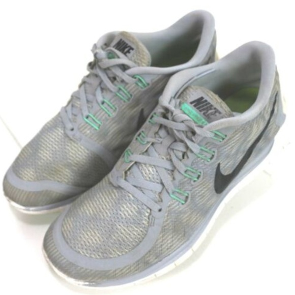 the best attitude 4e212 5c7f4 Nike Free 5.0 Women's Running Shoes Size 9.5 Gray